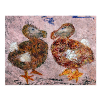 Two Dodos Postcard