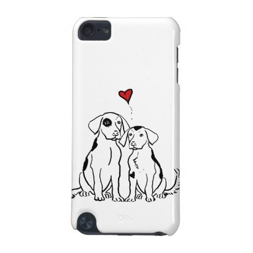 Two Dogs Puppy Love iPod Touch (5th Generation) Case