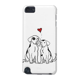 Two Dogs Puppy Love iPod Touch (5th Generation) Cases