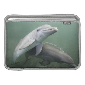 Two Dolphins underwater MacBook Sleeve