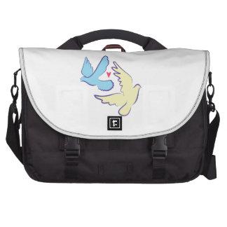 Two Doves Laptop Commuter Bag