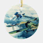 Two Down to Glory by William S. Phillips Christmas Ornament