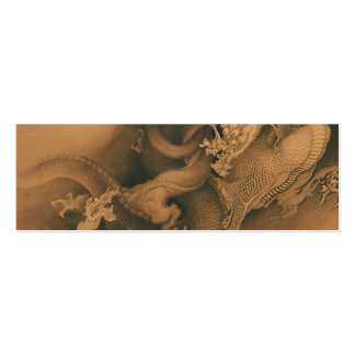 Two Dragons in Clouds Vintage Business Cards