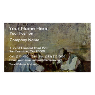 Two Drunks By Grigorescu Nicolae (Best Quality) Pack Of Standard Business Cards