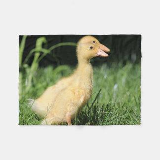 Two Ducklings Fleece Blanket