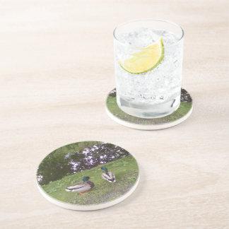 Two Ducks Beverage Coasters