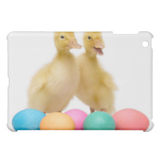 Two ducks with Easter Eggs Case For The iPad Mini