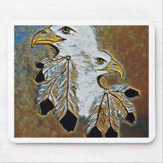 Two Eagles Mouse Pad