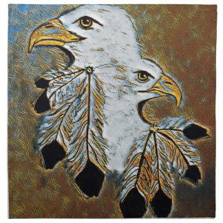 Two Eagles Napkin