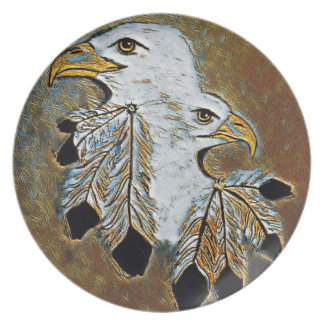 Two Eagles Plate