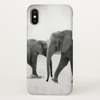 Two Elephants iphone Case