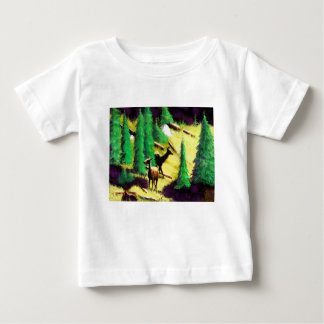 Two Elk In The Sunlight Baby T-Shirt