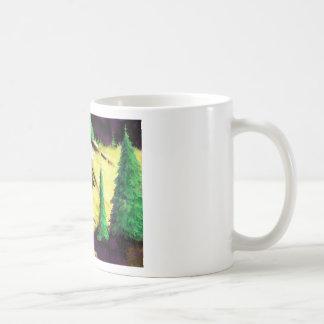 Two Elk In The Sunlight Coffee Mug