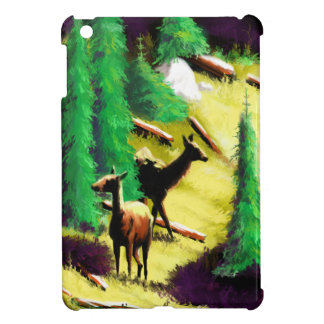 Two Elk In The Sunlight iPad Mini Cover
