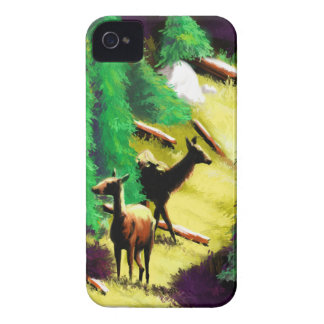 Two Elk In The Sunlight iPhone 4 Case