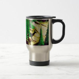 Two Elk In The Sunlight Travel Mug