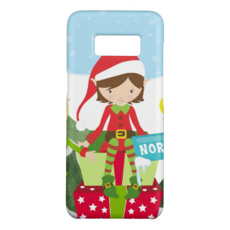 Two Elves at the North Pole Case-Mate Samsung Galaxy S8 Case