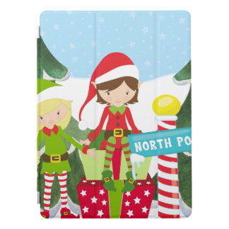 Two Elves at the North Pole iPad Pro Cover