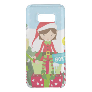 Two Elves at the North Pole Uncommon Samsung Galaxy S8 Plus Case