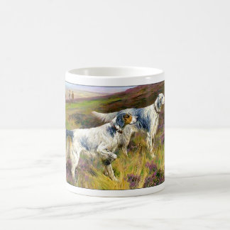 Two English Setters in a Field - Arthur Wardle Classic White Coffee Mug
