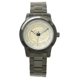 two Euro Greek watch