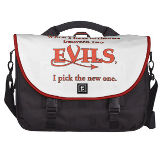 Two Evils Bags For Laptop