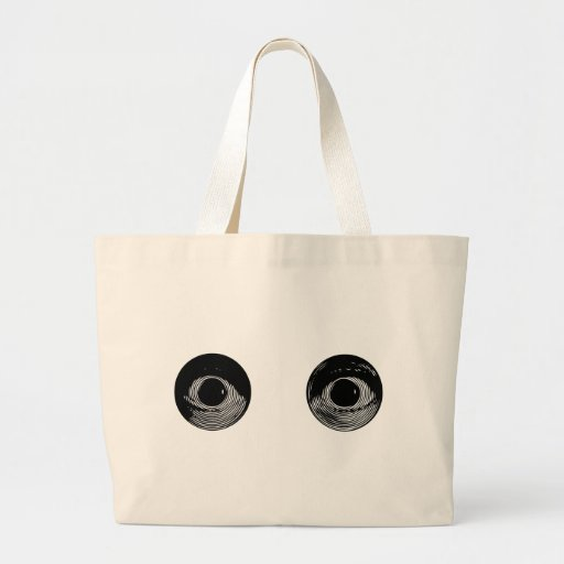 Two Eyes Canvas Bag