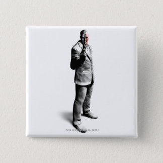 Two-Face 15 Cm Square Badge