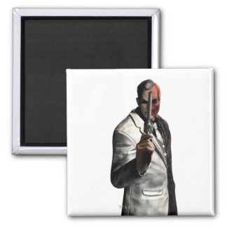 Two-Face Color Square Magnet
