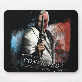 Two-Face - Convicted Mouse Pad