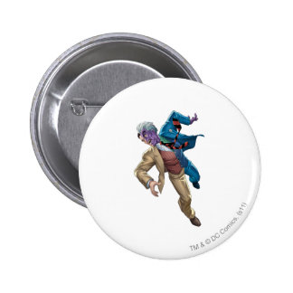 Two Face Falls 6 Cm Round Badge