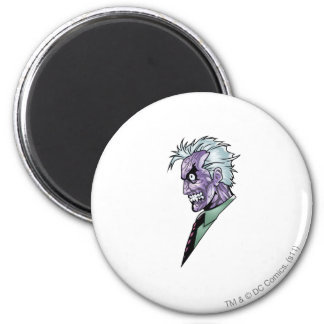 Two Face Profile Fridge Magnets