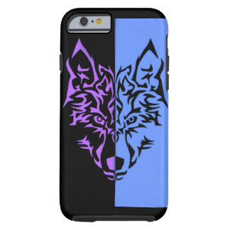 Two face Wolf Tough iPhone 6 Case