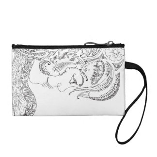 Two-Faced Clutch Change Purse