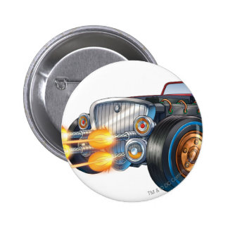 Two Face's Car 2 6 Cm Round Badge