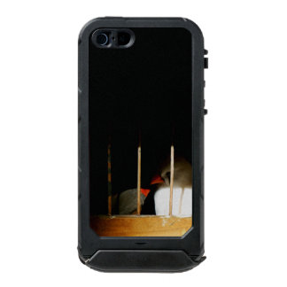 Two Finch Birds behind Bars Incipio ATLAS ID™ iPhone 5 Case