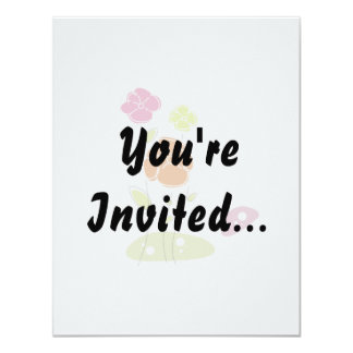 Two flower abstract eco design.png invitation