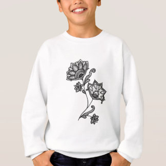Two flowers sweatshirt