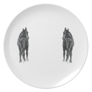 Two Foals Decorative Plates