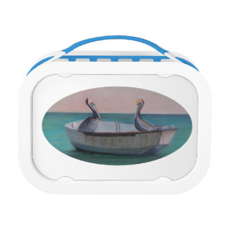 TWO FRIENDS IN A DINGHY Lunch Box