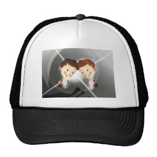 Two Gay Men Couple In Tuxedos Adorable Vintage Cap