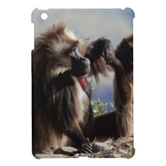 Two gelada baboons (Theropithecus gelada) Case For The iPad Mini