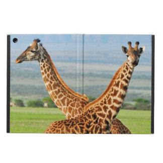 Two Giraffes iPad Air Covers