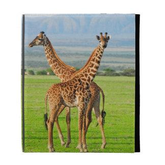 Two Giraffes iPad Folio Case