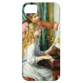 Two Girls at the Piano - Pierre Auguste Renoir iPhone 5 Cases