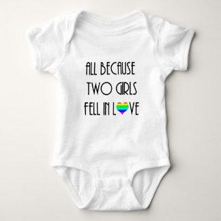 Two Girls Fell in Love Tee Shirt