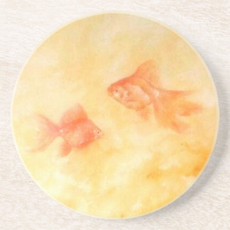 Two Goldfish Coaster