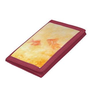 Two Goldfish Tri-fold Wallet