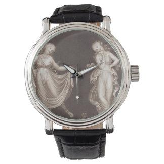 Two Grecian Women Dancing Watches