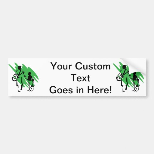 two guitar players outline musician green.png bumper stickers